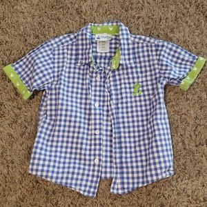 Disney Parks button-up
